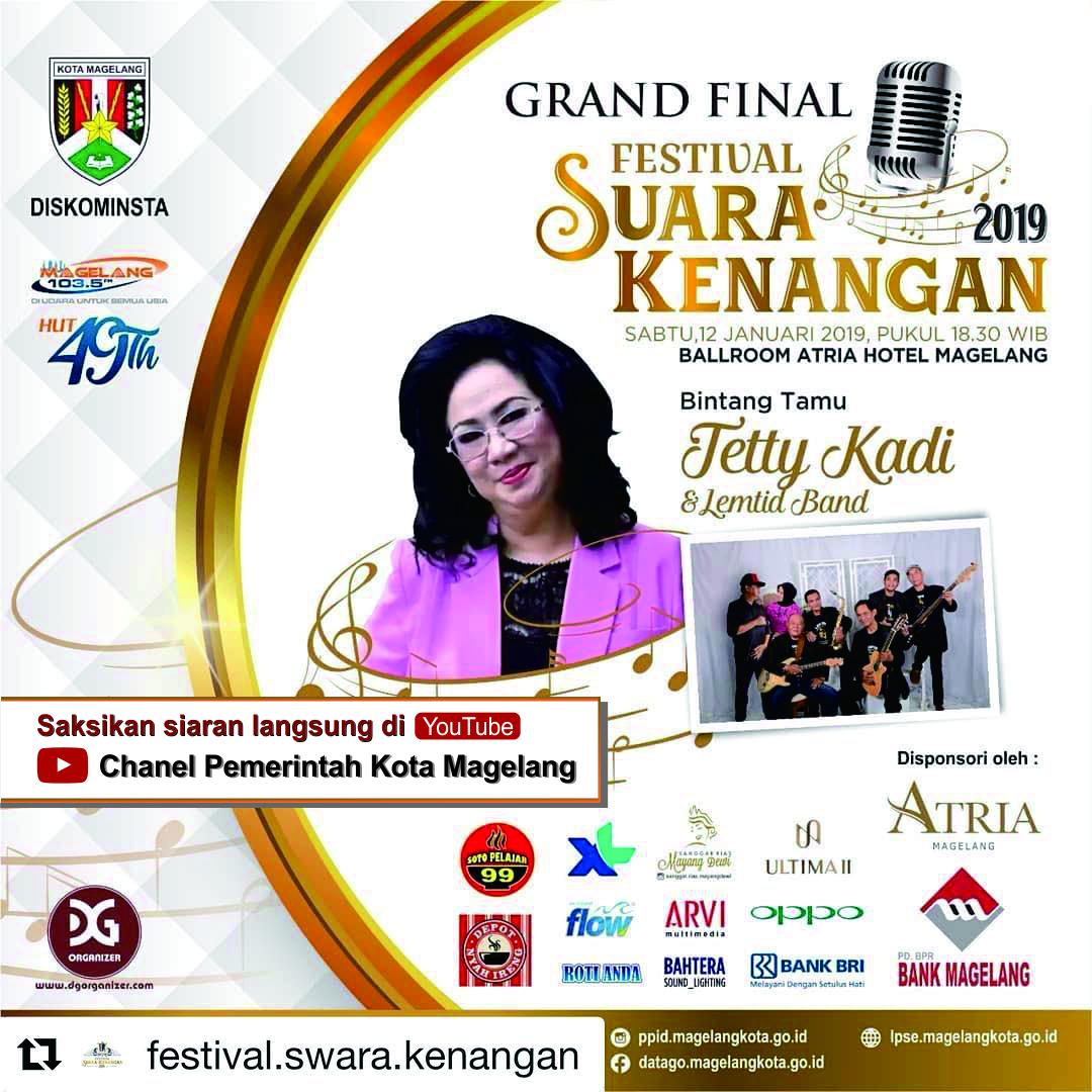 Malam Grand Final FSK 2019 Tingkat Jateng - DIY