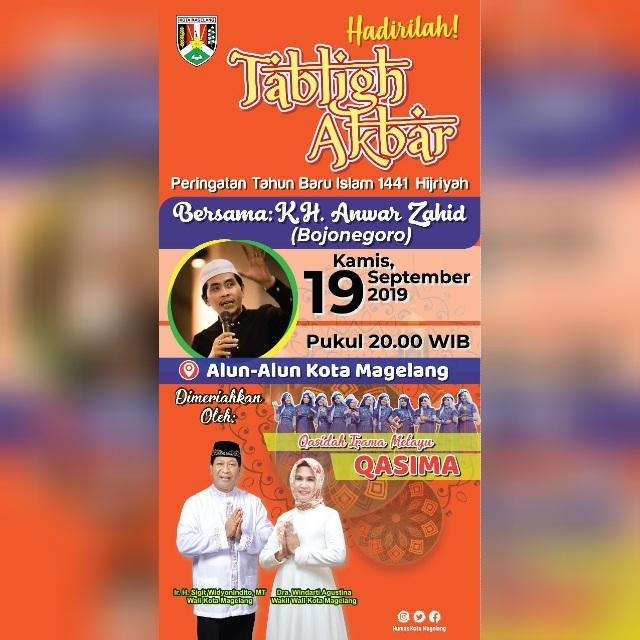Tabligh Akbar Peringatan Tahun Baru Islam 1441 Hijriyah
