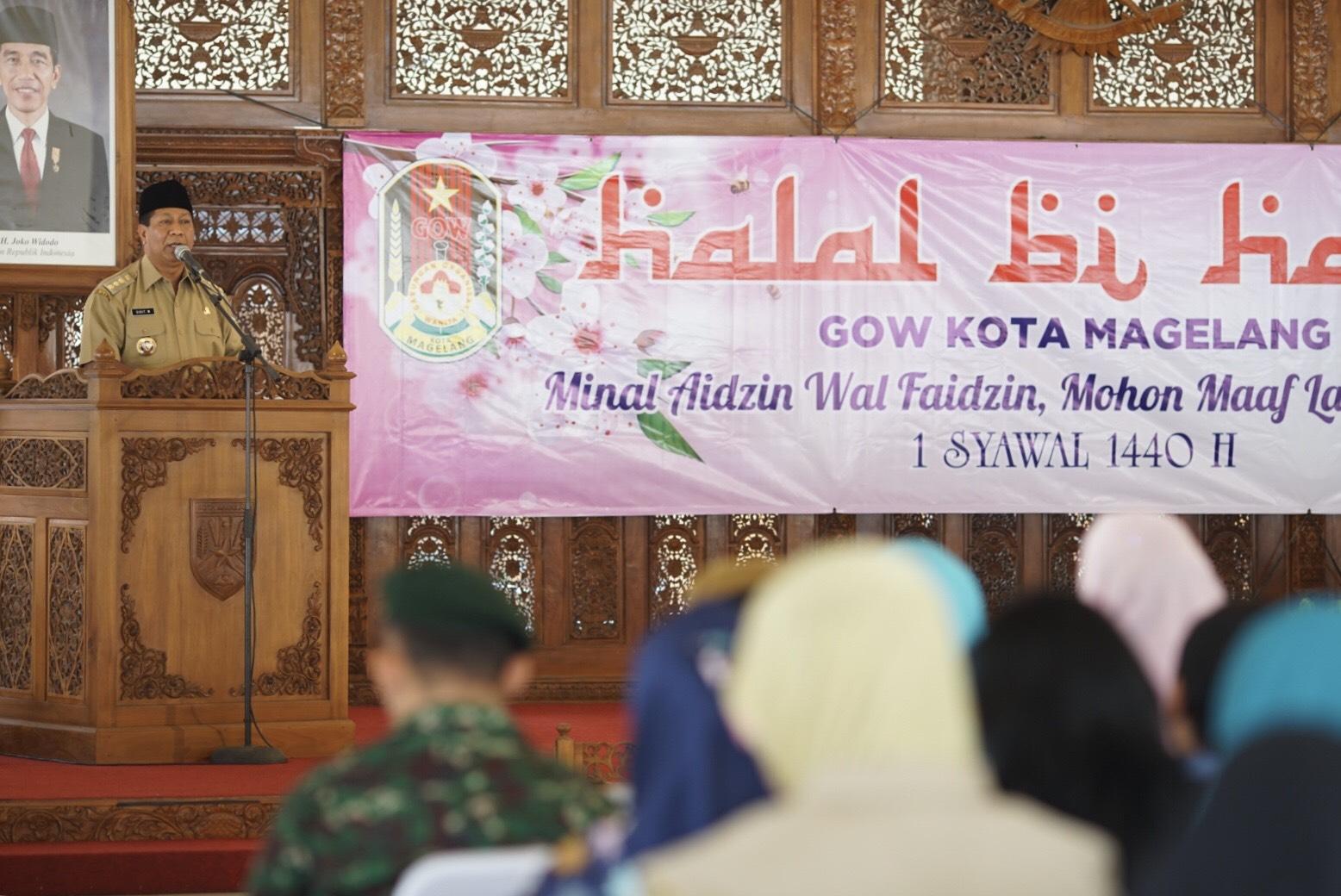 Walikota Sigit: GOW Ikut Andil Memajukan Kota Magelang
