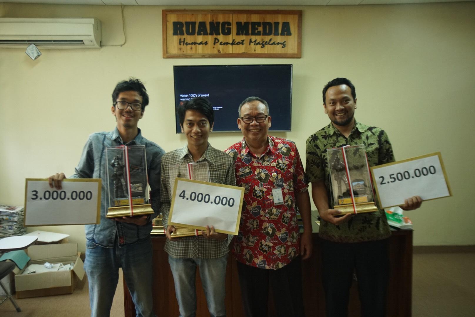 Pemkot Serahkan Hadiah Lomba Foto Hari Jadi ke-1.113 Kota Magelang