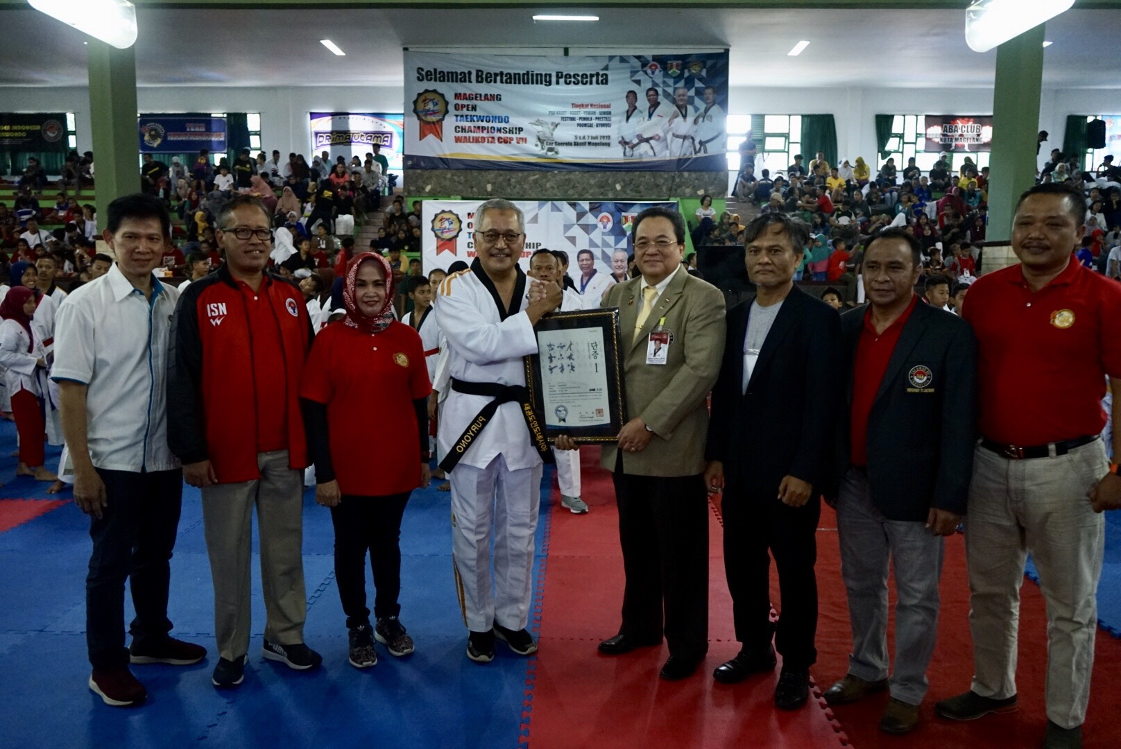 Magelang Open Taekwondo Championship - Piala Walikota ke-7 Diikuti 1.663 Atlet se-Indonesia
