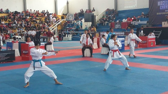 Pembukaan Karate Championship 2 Piala Bergilir Disporapar Jateng