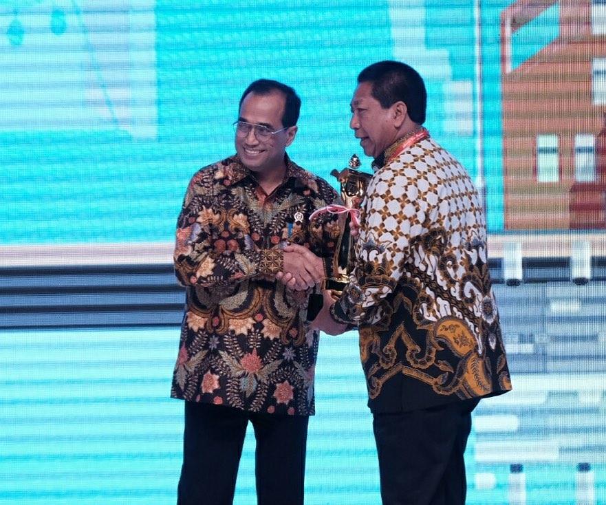 Kota Magelang Kembali Meraih Penghargaan Wahana Tata Nugraha (WTN)