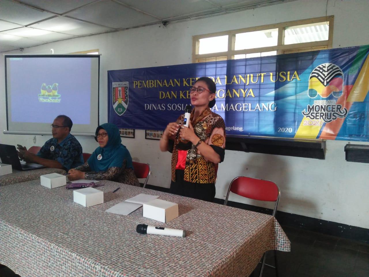 Wujud Komitmen Pemkot Magelang Berdayakan Lansia