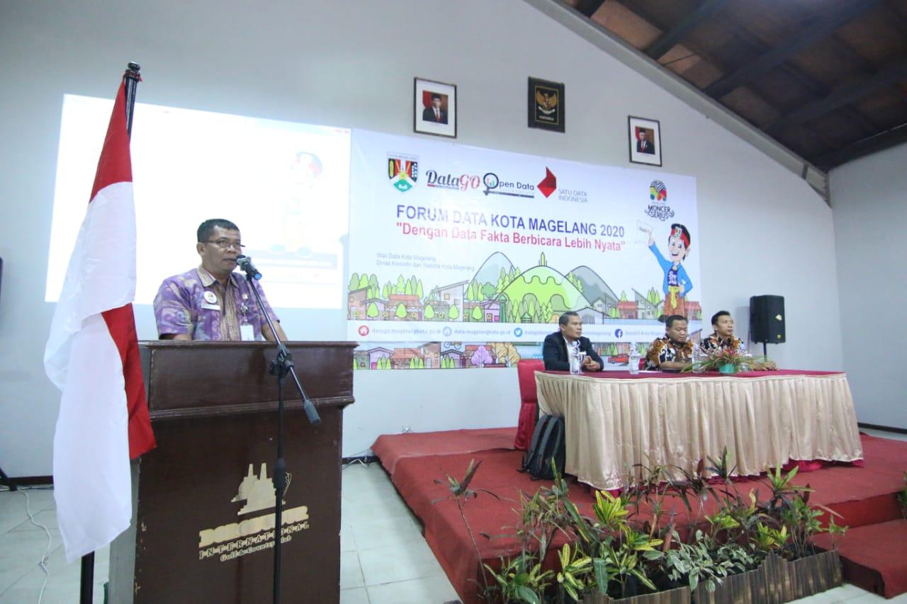 Forum Data Kota Magelang: Data Sebagai Referensi Utama Perencanaan Pembangunan