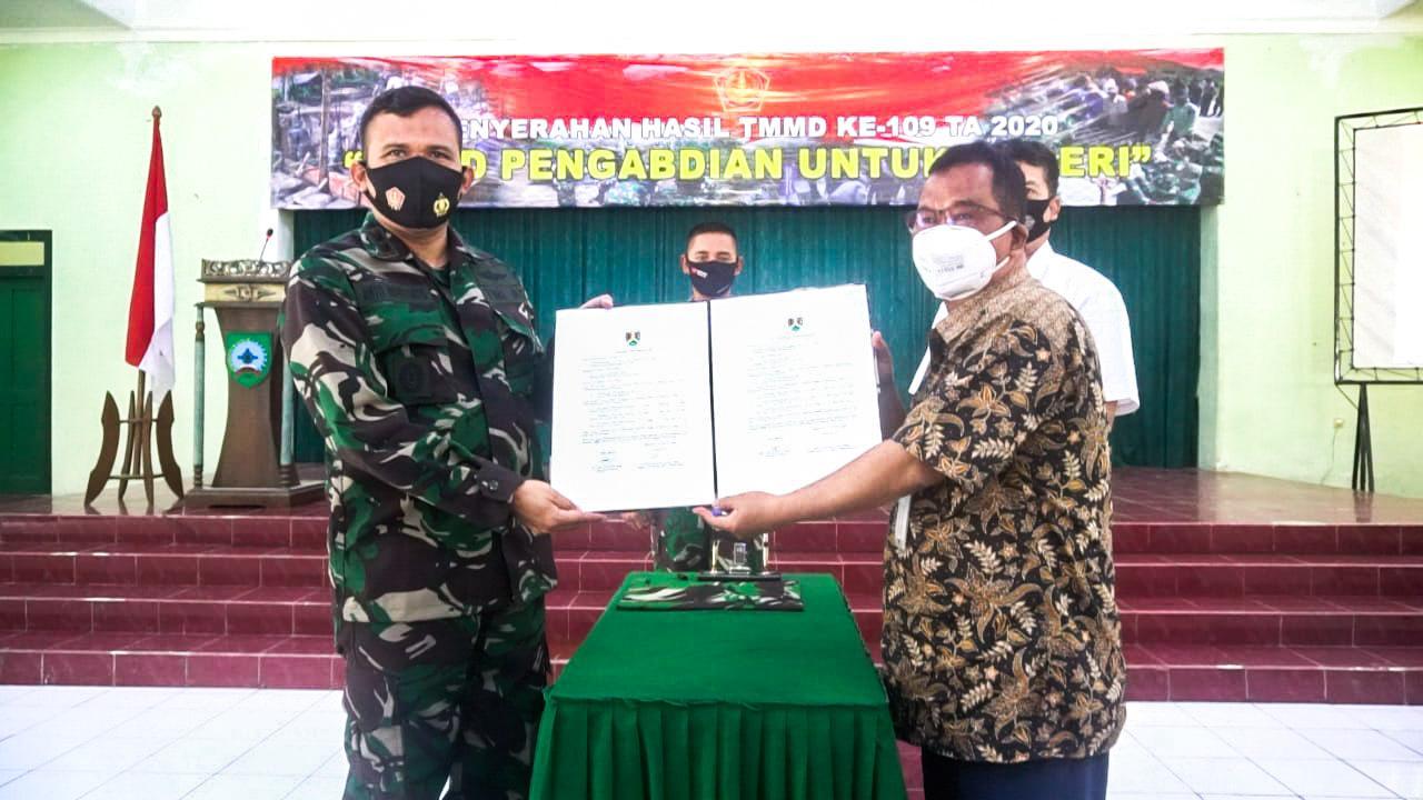 SINERGI PEMERINTAH KOTA MAGELANG DAN TNI SUKSESKAN PELAKSANAAN TMMD KE-109