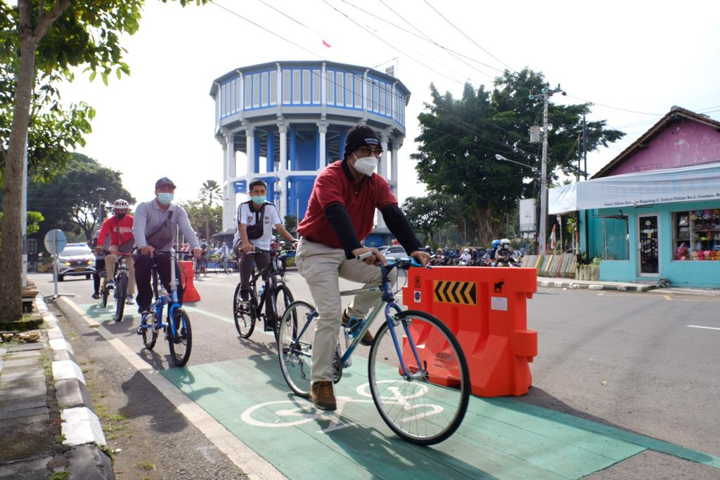 Hari Sepeda Sedunia, Karyawan Pemkot Magelang Bersepeda dari Rumah ke Kantor